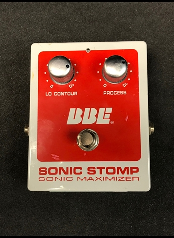 BBE Sonic Stomp Maximizer Pedal *USED*