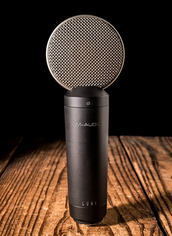 M-Audio Luna Large-Diaphragm Studio Condenser Microphone *USED*