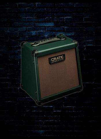 "Crate CA10 - 10 Watt 1x8"" Acoustic Guitar Combo - Green"