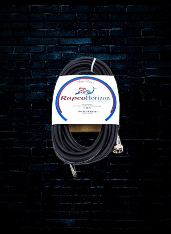 Rapco F-20.K - 20' Hi/Z Threaded Ring Microphone Cable