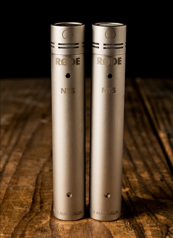 "RODE NT5 - 1/2"" Condenser Microphone (Pair)"