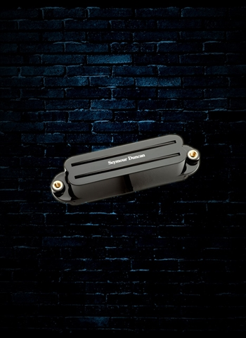 Seymour Duncan SHR-1B Hot Rails Strat Bridge Pickup - Black