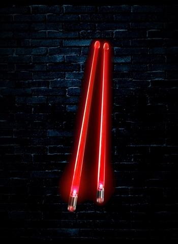 Firestix FX12RD Light-Up Drumsticks - Red