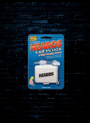 Hearos High Fidelity Ear Filters 12dB NRR - 1 Pair