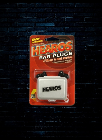 Hearos Rock 'N Roll Performance Ear Filters 26dB NRR