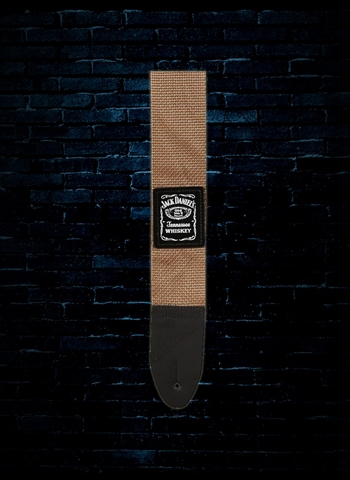 Jack Daniel's Tennessee Guitar Strap - Brown