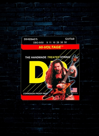 DR DBG-9/50 Dimebag Darrell Electric Strings - Signature (9-50)