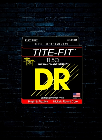 DR EH-11 Tite-Fit Nickel Plated Electric Strings - Extra Heavy (11-50)
