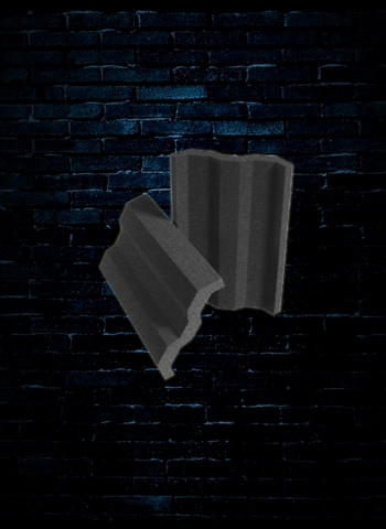 Auralex VersaTile 4 Sq. Ft. Sound Absorption Panel - Charcoal