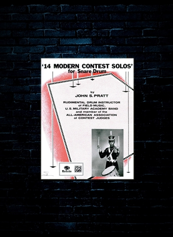14 Modern Contest Solos For Snare Drum