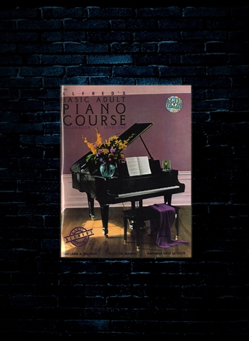 Alfreds Basic Adult Piano w/CD Level 1