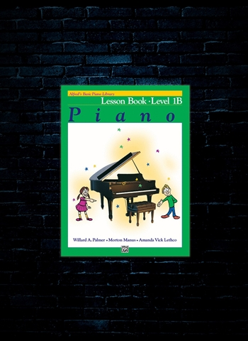 Alfreds Basic Piano Lesson Level 1B