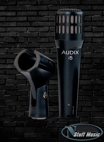 Audix I5 Dynamic Instrument Microphone - Rental